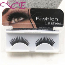 Private label mink eyelashes korea fashion human hair lashes