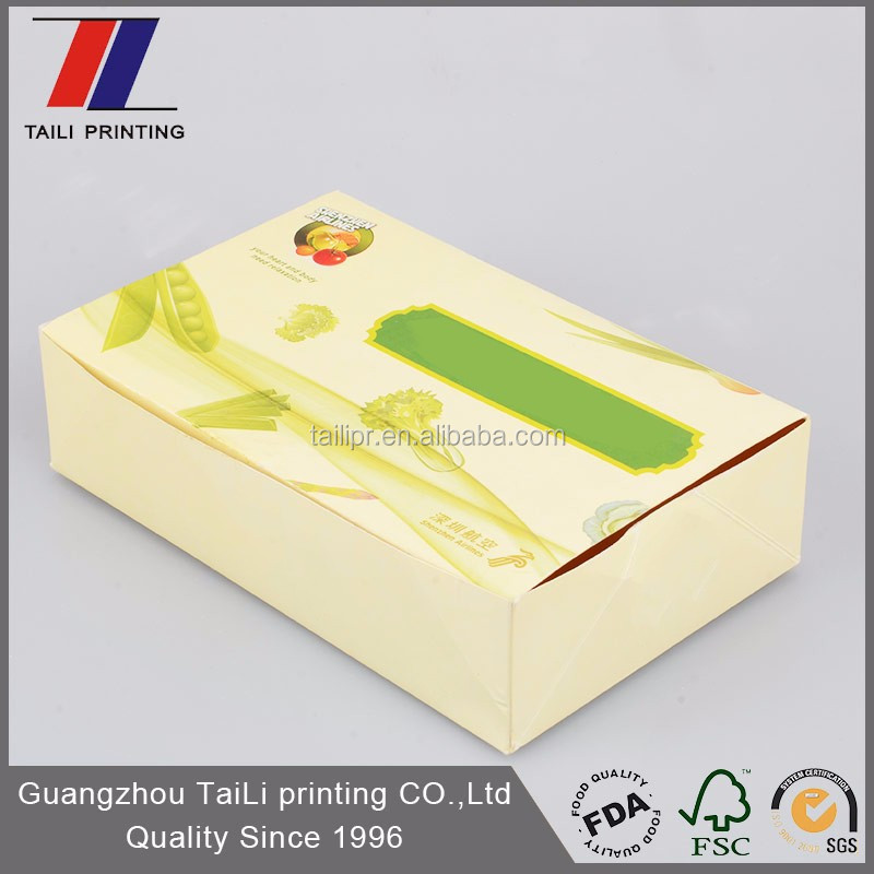 Custom Food Grade Disposable Airline Meal Box