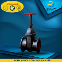 Water Sealed Pn16 Gate Valve Gear Operated Dn150