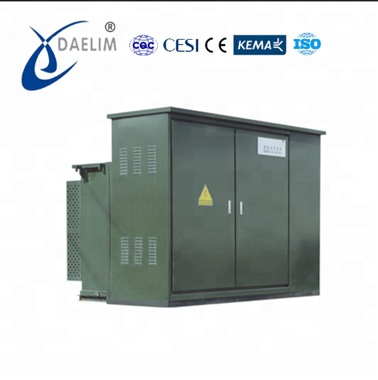 11kv 1000kva cubicle type substation transformer