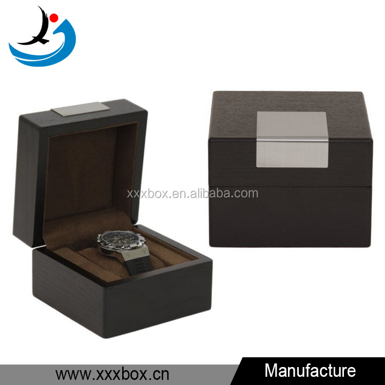 Small elegant man watch wholesale wooden luxury watch packing box
