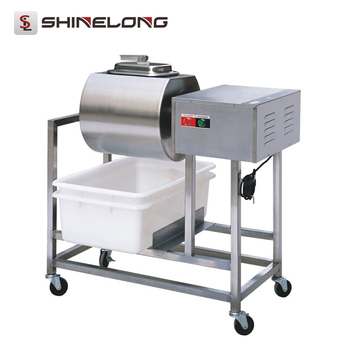 2017 Best Selling Shine Long Vacuum Chicken Marinating machine