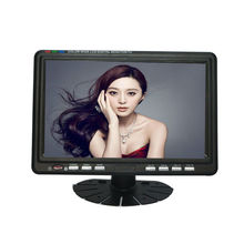 7.5 inch TFT LCD color Analog TV with wide view angle Support SD/MMC Card, USB Flash disk