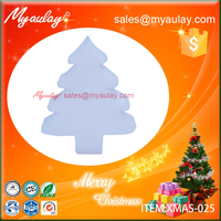 2015 white Christmas decorations christmas tree sponge wholesale product XMAS-025