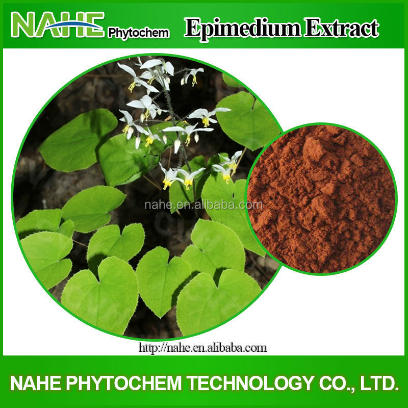 Sell natural plant extract epimedium sagittatum 95% icariin extract/ epimedium sagittatum seeds