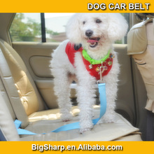 Cheap quality New 7 Color Pet Dog Car Travel Safety Seats Belt Clip Leash Belt easy to take your dog for trip CB-2501