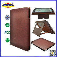 Leather Magnetic Luxury Case for iPad 2/3/4 with Sleep Wake
