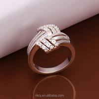 hot Most popular 925 sterling silver infinity symbol ring