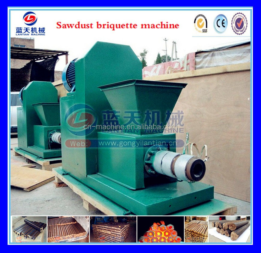 Plant Price High Quality Ram-type Corn Stalk Biomass Fuels Briquette Machine