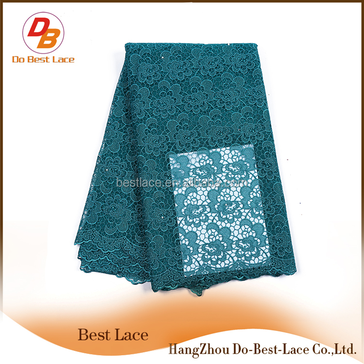 New design tulle lace hot selling french net lace fabrics dubai for evening dress