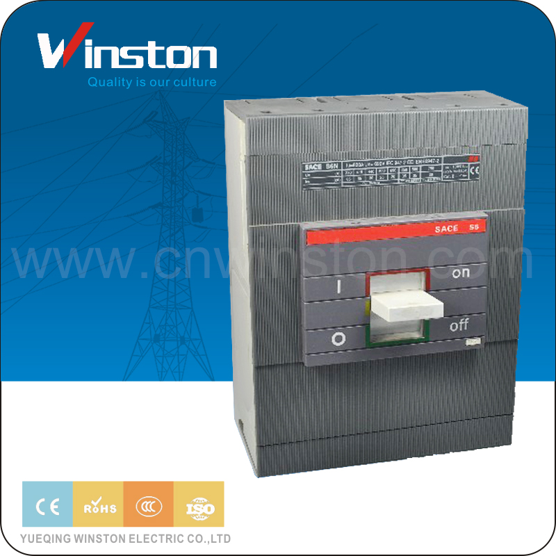 OEM Electrical Isolator Types 3 Pole Timer MCCB 800A Circuit Breaker