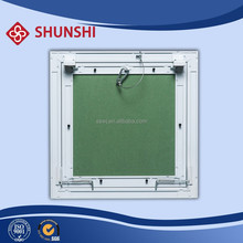 Drywall touch access panel with touch lock