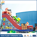 2017 Huanle engineer model inflatable silde bouncer in amusement park euqipment