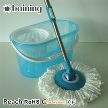 Crystal blue floor mopping smart cleaning spin easy magic 360 mop