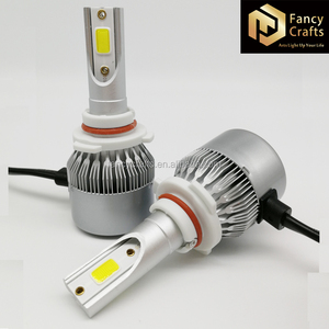 Brightest headlights on the market h7 led headlight bulb 36w led head light with intelligent cooling fan