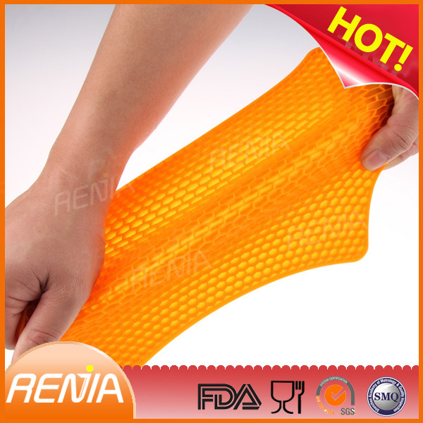 RENJIA heat resistant silicone pad,heat resistant mats kitchen,heat resistant placemat