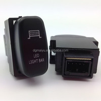 High Quality Push Button Switch with LED Lighting laser Mark Symbol for MITSUBTSHI