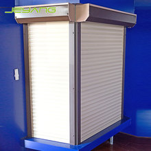 Outdoor design aluminum electric security roller shutters for windows