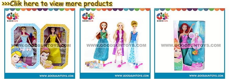 Wholesale Plastic Fashion Girl Doll Toy Beautiful Princess Doll