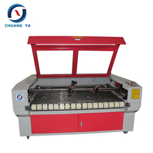 auto feeding plastic film laser cutting machine 1490-100w laser machine for processing nonmetal