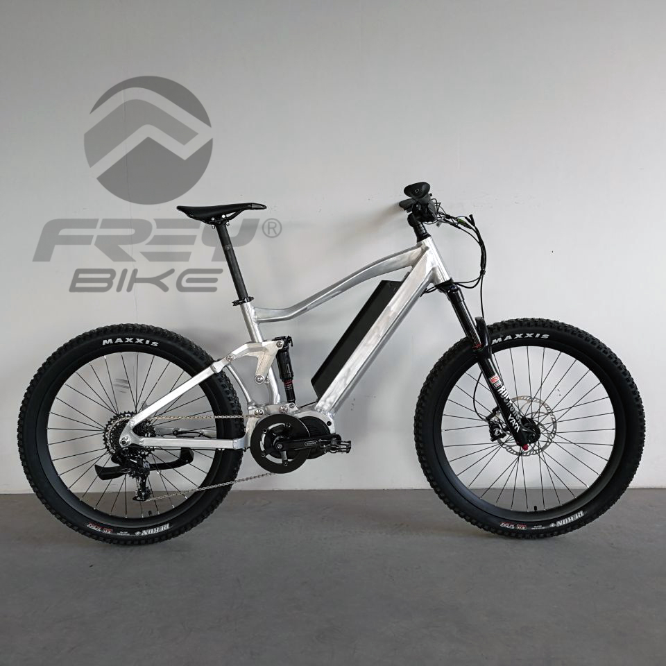 2018 FREY AM1000 electric bicycle mountain dual suspension ROCKSHOX Bafang ULTRA mid drive system