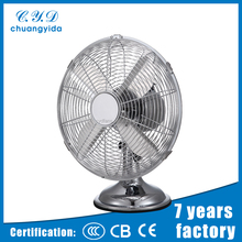 "Hot sell 16"" metal oscillation 4 blades powerful air flow table fan"