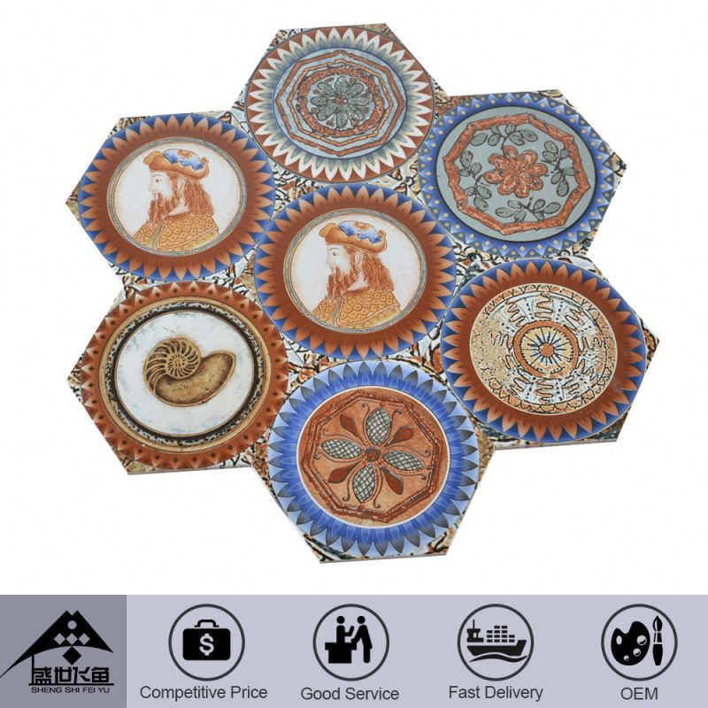 Credible Quality Trendy Oem Cheap Prices China Tile Manufacture Greek Key Tiles