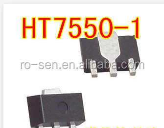 Quality assurance IC HT7550 electronic components package SOT89
