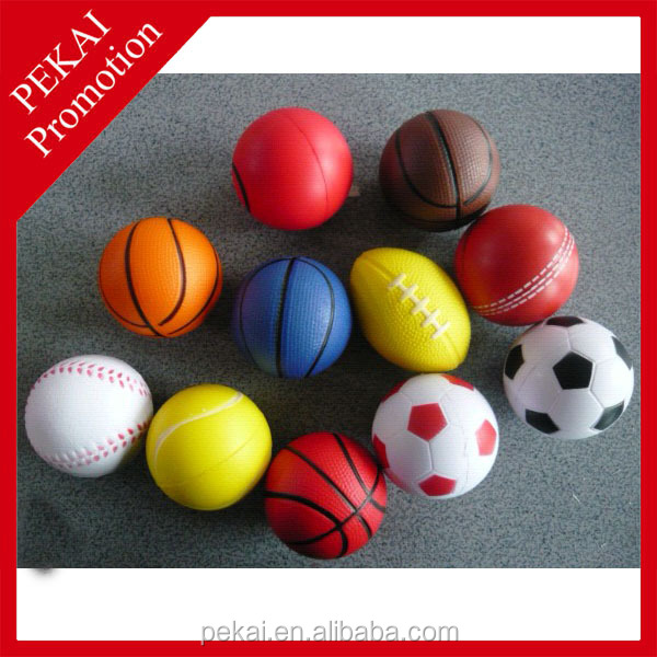 Cheap brain shaped stress balls for promotional gifts