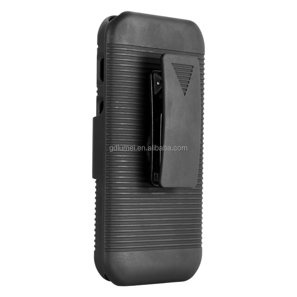 Cool Shield Rugged Plastic Belt Clip Moblie Phone Cover for Samsung Galaxy Xcover 3 G388F