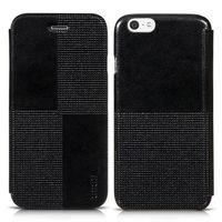 HOCO Crystal Series Crazy Horse Texture Retro PU Leather Phone Case for iPhone 6 Case 4.7 inch