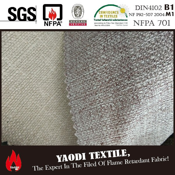best selling cheap FR fabric material for sofa set