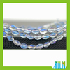 Rice Oval Faceted Crystal Glass Beads for Jewelry Making Tools Equipment