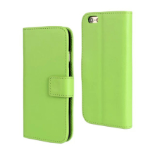 Hot selling PU leather case cheap cell phone case leather holster for iPhone 6 6plus