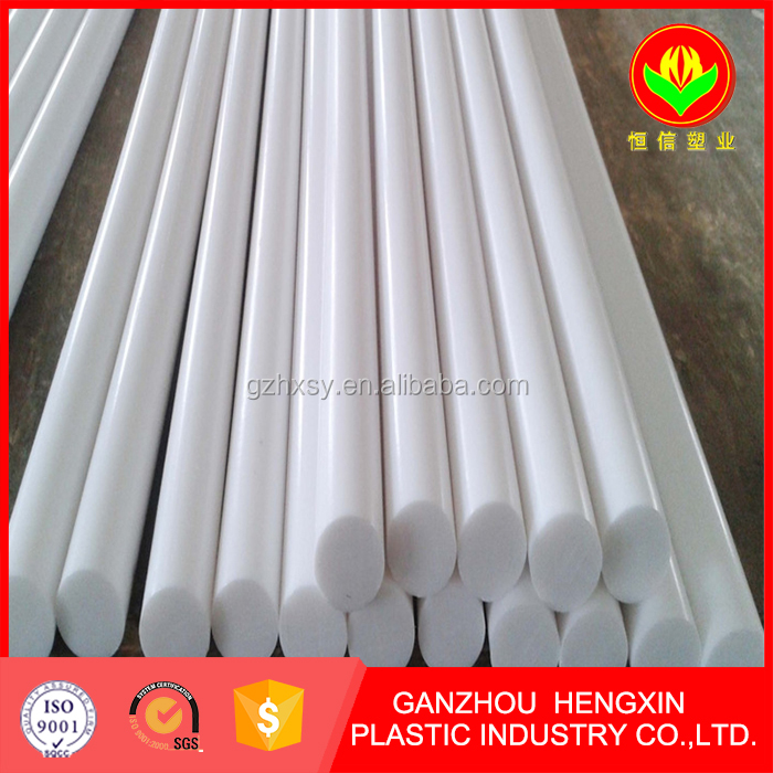 Engineering extruded plastic PA PP POM round rod