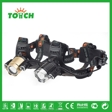 2017 LED headlight 10w XM-L- T6 camping outdoor led headlamp for camping