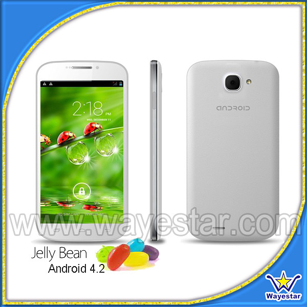 DK C30 MTK6582 Quad Core 5.0 inch 2 Camera 8MP Cheap Android Phone 3G
