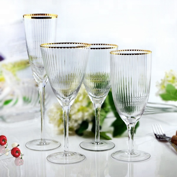 Wholesale Cheap Wedding Decorated Glassware Set/Wine <strong>Glass</strong>