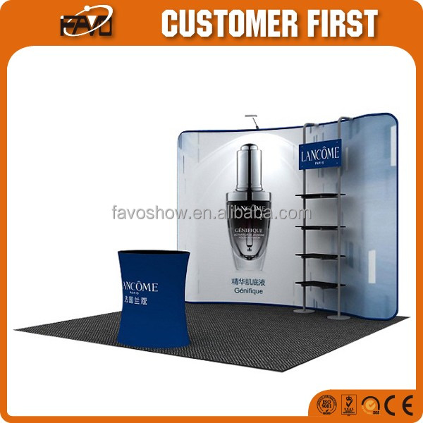 Best Sell Advertising Display Exhibition Booth Design