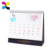 Custom printable folding desk calendar printing wholesale