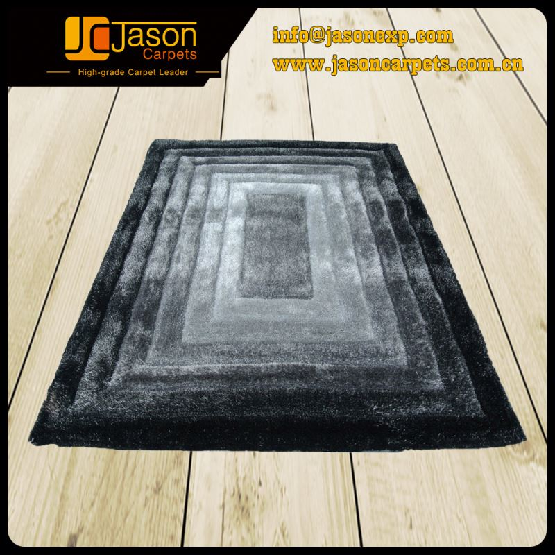 Fast Delivery Promotional 3D Shaggy Carpet Turkey
