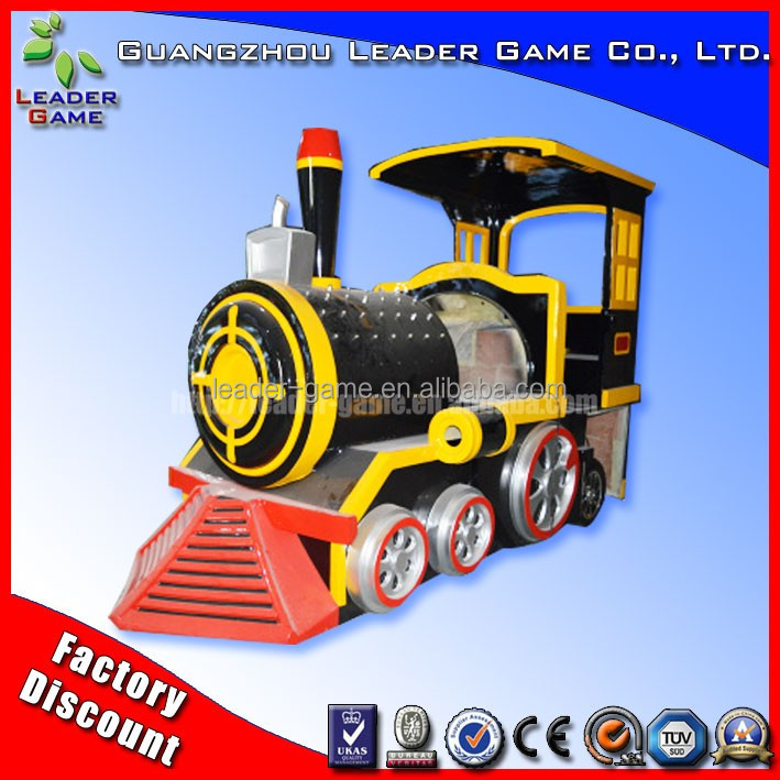 Latest Small train set cheapest entertainment games factory