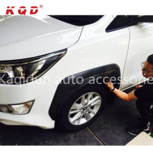 Warranty 1 year fast delivery car accessories abs fender flare for Innova 2016