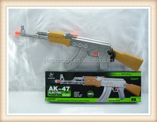 hot sell AK-47 plastic b/o big gun toy with light music