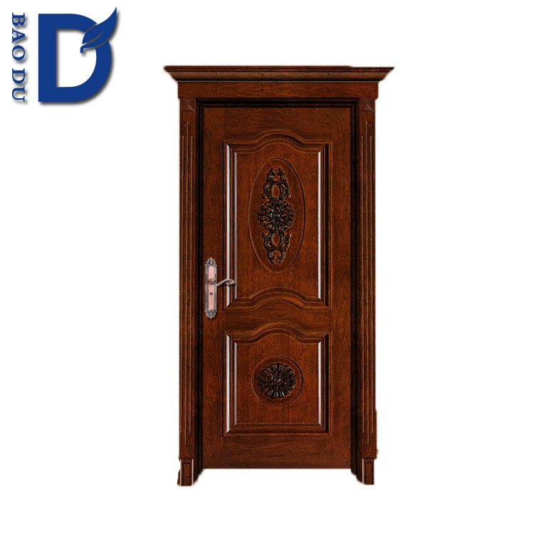 interior solid wooden door for hotel doors high quality interior BD