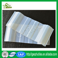 clear 3mm sole coated ceiling pvc roof sheet
