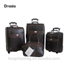 Africa Markets Snake PU Leather High Quality Hot Sale Real Push Trolley Bag Cheap Price Travel Luggage Set