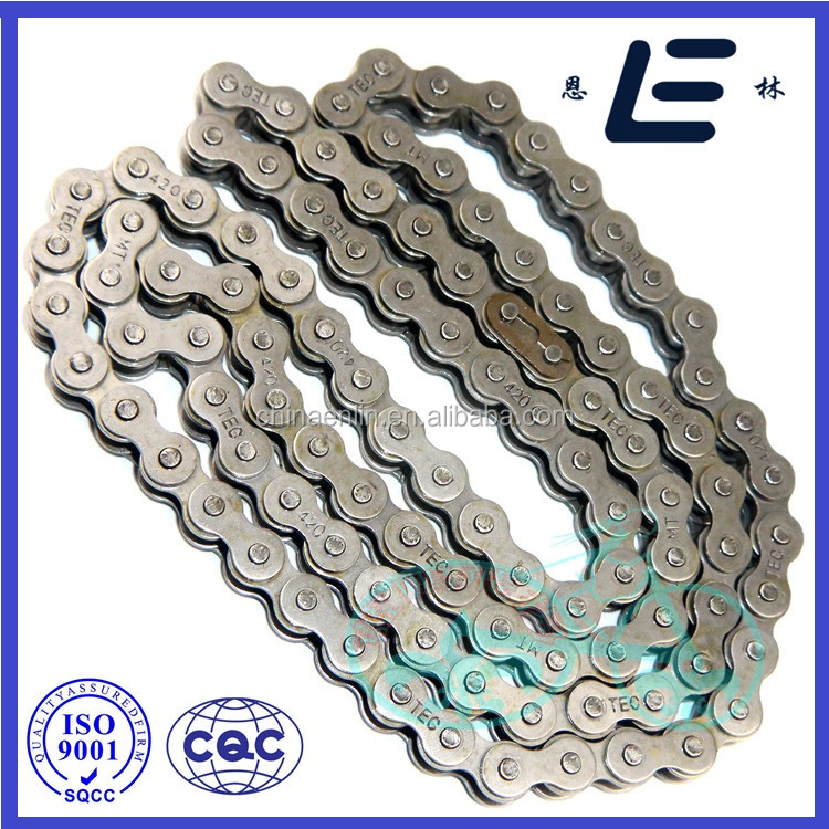 Chinese Manufacturer Spare Parts Motorcycle Chain Kit For Cd 70 Motorcycle Parts