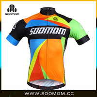 2015 China custom-tailar ropa de cilismo breathable&quick dry cycling clothing colourful bike clothing no minimum