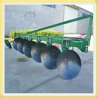 3 point linkage tractor mounted farm disc plow with 6 discs